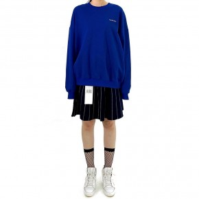 Y3NOLOGY Unisex Oversized Sweatshirt In Blue