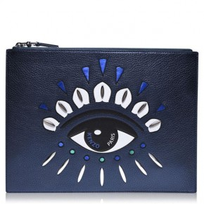 KENZO EYE CLUTCH BAG
