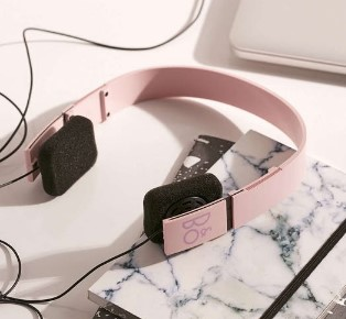Beoplay X Urban Outfitters Form 2i Pink Headphones